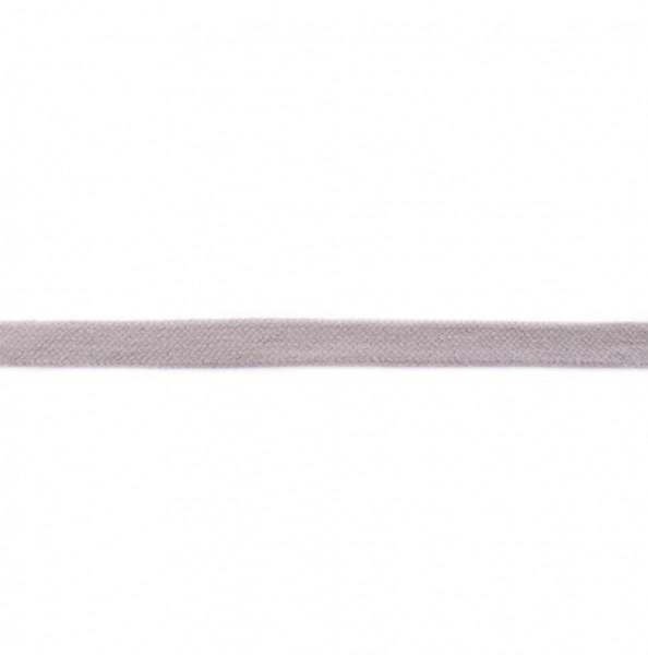Flache Hoodiekordel - hell grau - 17mm -