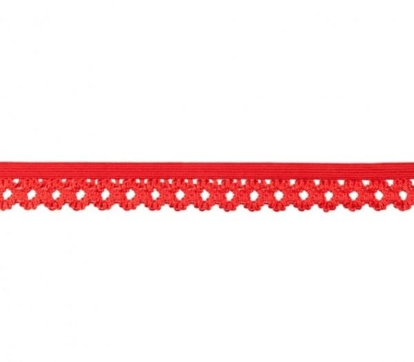 Elastische Spitze - 20mm - rot -