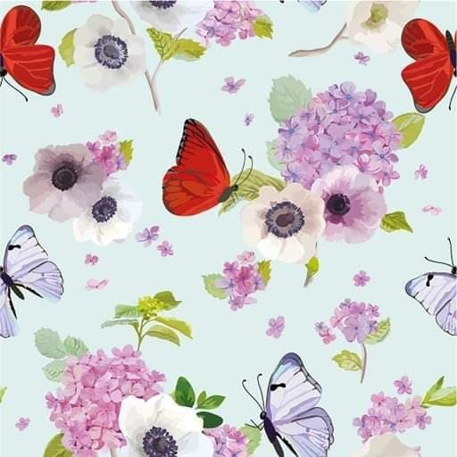 Butterflies - French Terry