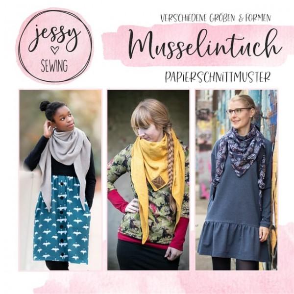 Papierschnittmuster - Jessy Sewing - Musselintuch
