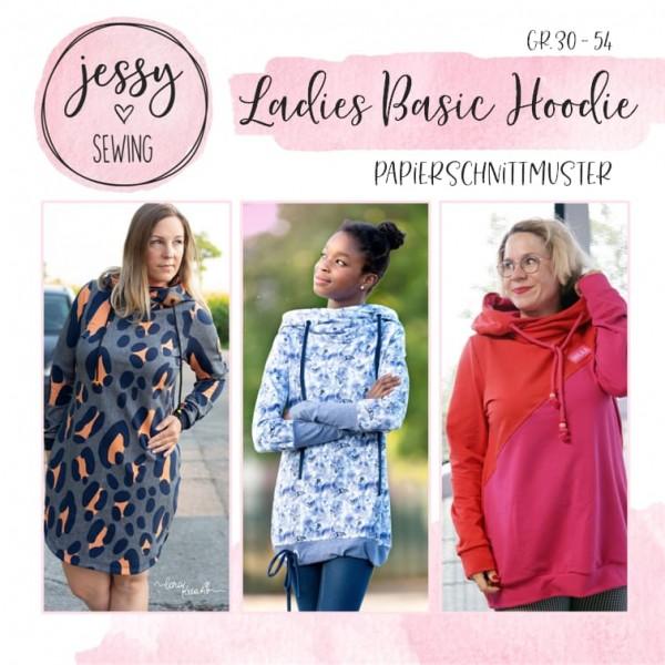 Papierschnittmuster - Jessy Sewing - Ladies Basic Hoodie