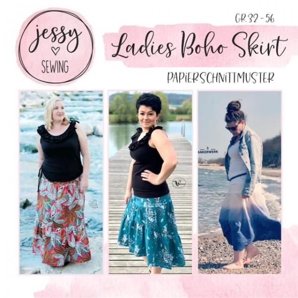 Papierschnittmuster - Jessy Sewing - Ladies Boho Skirt