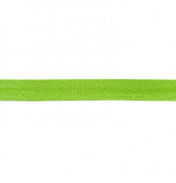 Baumwolljersey Einfassband - grün -