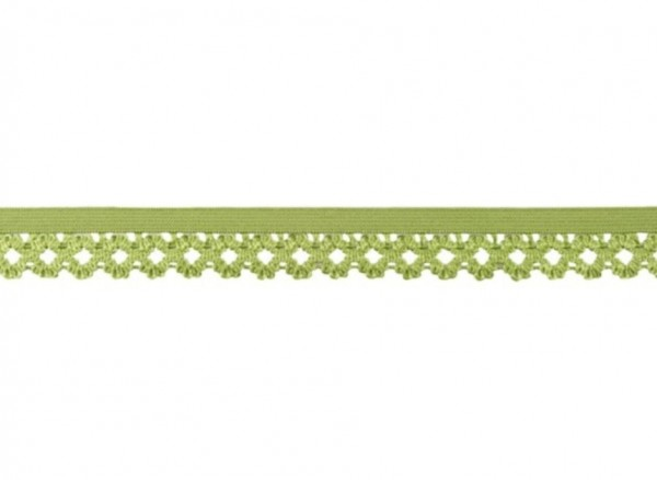 Elastische Spitze - 20mm - lime -