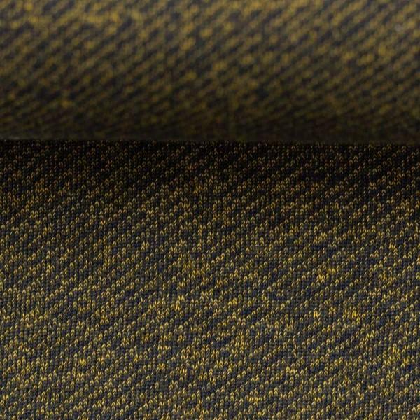 Swafing - Piet - dunkelblau-gelb - Sweat mit Fleeceabseite