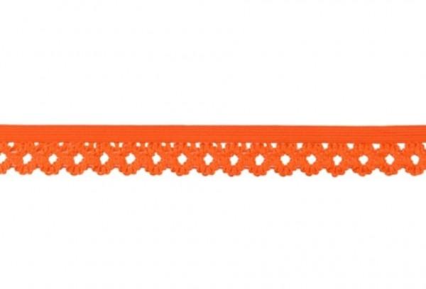 Elastische Spitze - 20mm - orange -