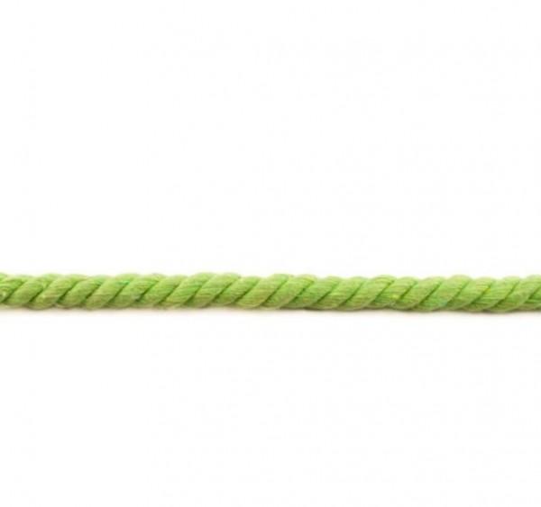 XXL gedrehte Hoodiekordel - lime - 12mm -