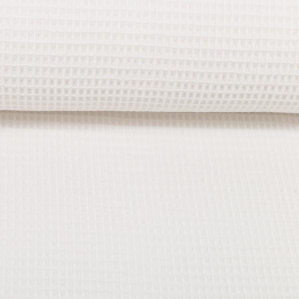 Waffel Piquet - weiß