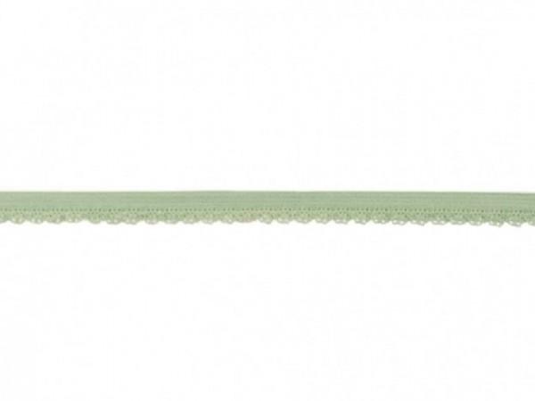 Elastische Spitze - 12mm - mint -