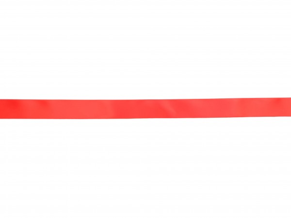 Zierband - rot - 25mm -