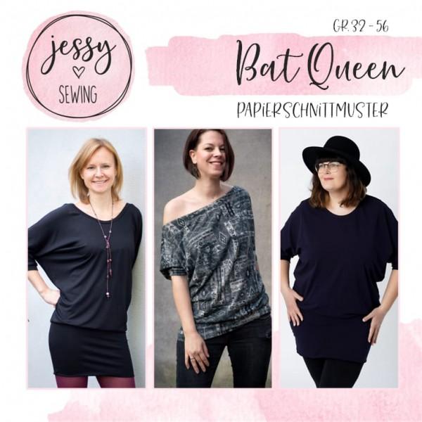 Papierschnittmuster - Jessy Sewing - Bat Queen