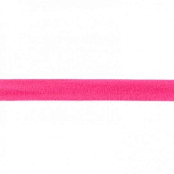 Baumwolljersey Einfassband - pink -