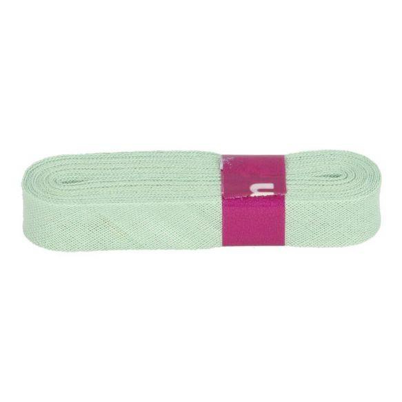 Baumwoll Einfassband - 12mm - altgrün - 3m