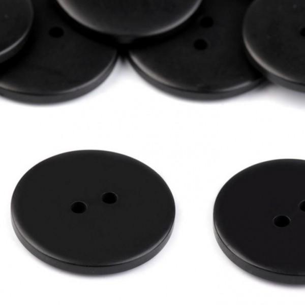 Knopf - schwarz - 30,5mm