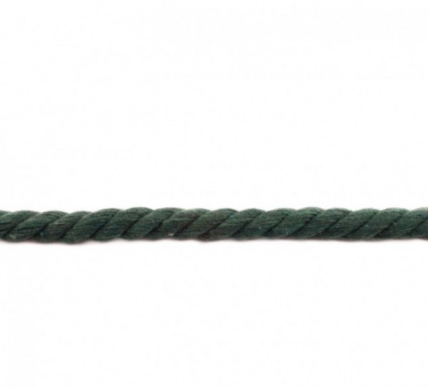 XXL gedrehte Hoodiekordel - dunkel grün - 12mm -