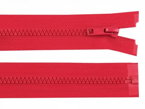teilbarer Reißverschluss - hellrot - 60 cm - 1 Stk