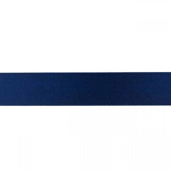 Zierband - dunkelblau - 25mm