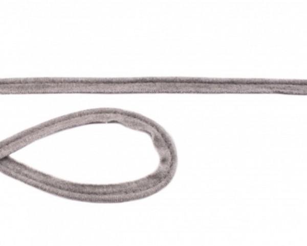 Jersey Paspel - 10mm - hellgrau meliert -