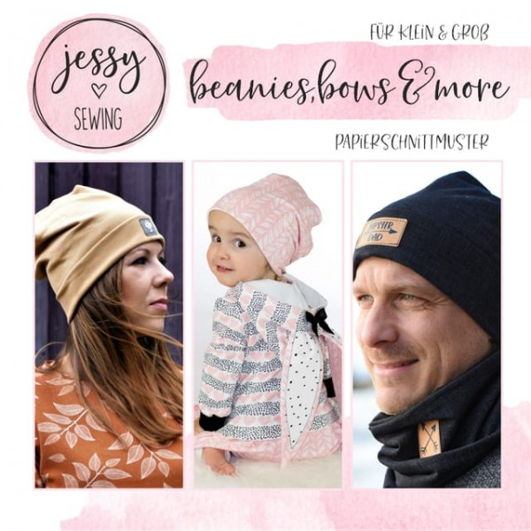Papierschnittmuster - Jessy Sewing - beanies, bows & more