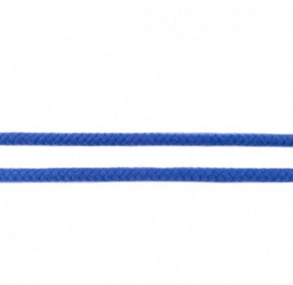runde geflochtene Hoodiekordel - kobalt - 8mm -