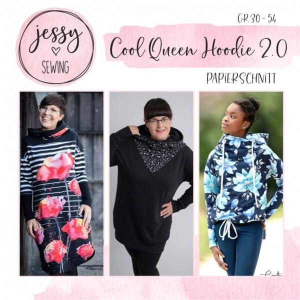 Papierschnittmuster - Jessy Sewing - Cool Queen Hoodie 2.0