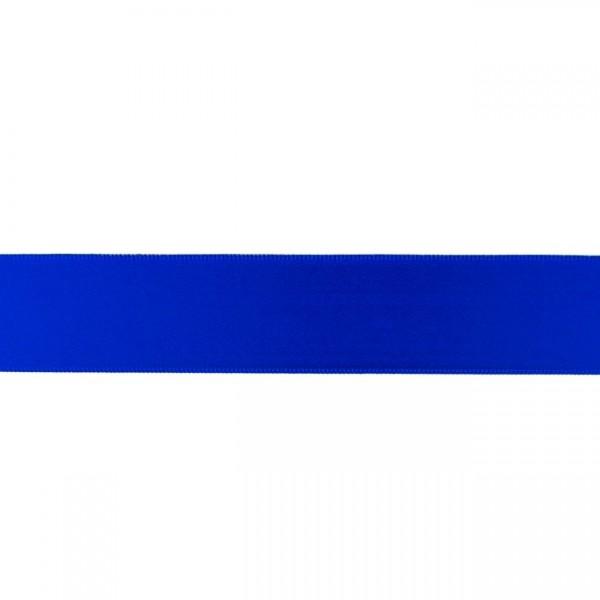 Zierband - kobaltblau - 25mm