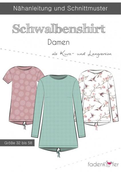Papierschnittmuster - Schwalbenshirt - Damen