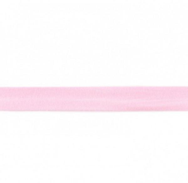 Baumwolljersey Einfassband - rosa -