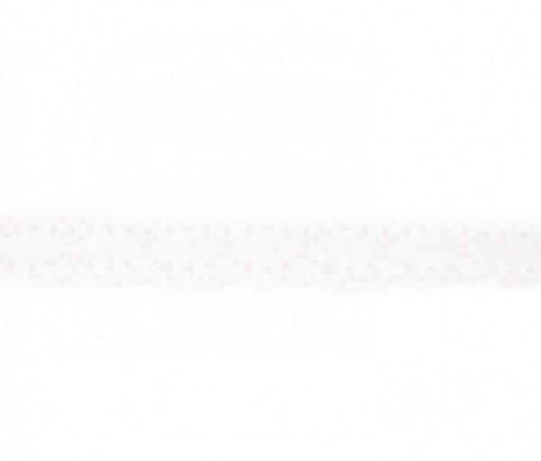 Klöppelspitze - weiß - 22 mm -