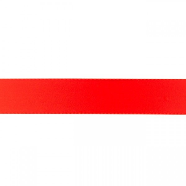 Zierband - rot - 25mm