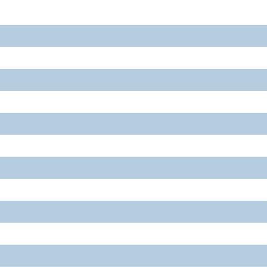 Preppy Stripe - hellblau - French Terry