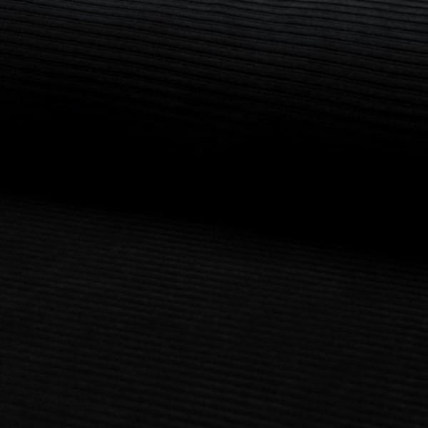 Cordjersey - schwarz