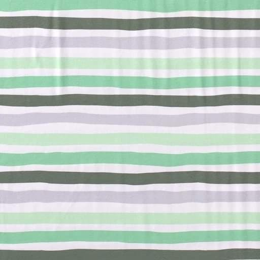 Streifen Kombo - grün - BW-Jersey