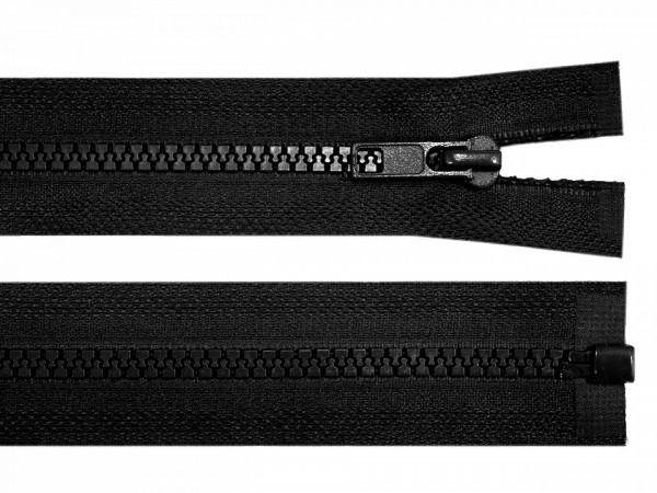 teilbarer Reißverschluss - schwarz - 60 cm - 1 Stk