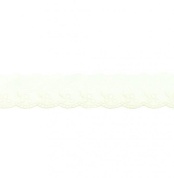 Wäschespitze - altweiß - 42 mm