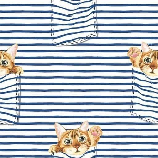 Taschen-Katze - French Terry