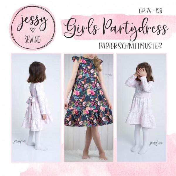 Papierschnittmuster - Jessy Sewing - Girls Partydress