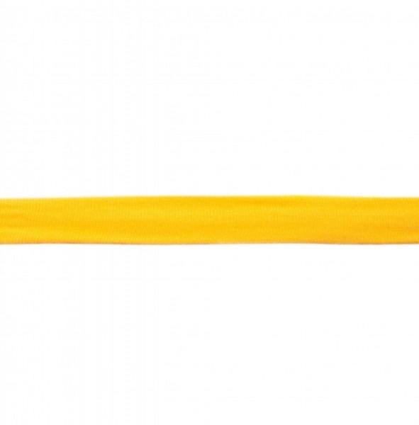 Baumwolljersey Einfassband - gelb -