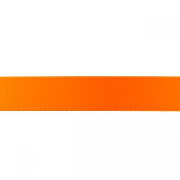 Zierband - orange - 25mm