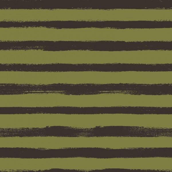 Groovy Stripes - grün - French Terry