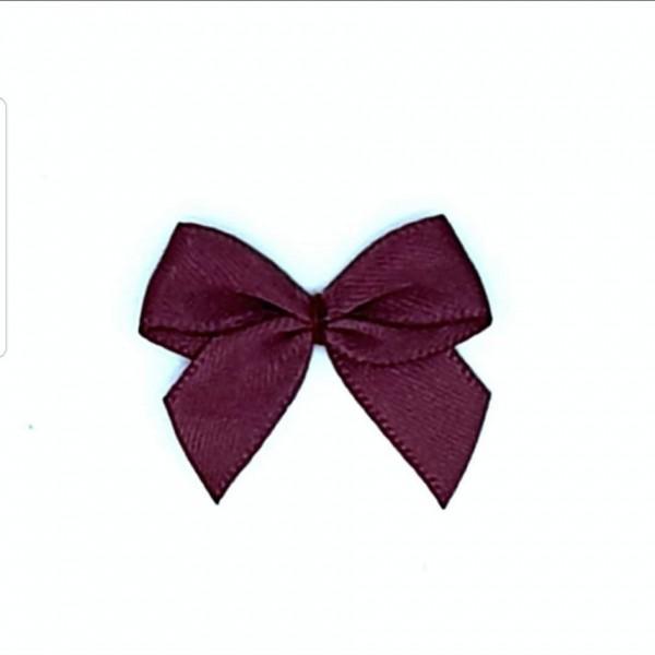Zierschleife - rotbraun