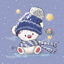 Panel - Winterteddy - French Terry