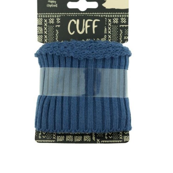 Cuff - Rippe - uni - jeans