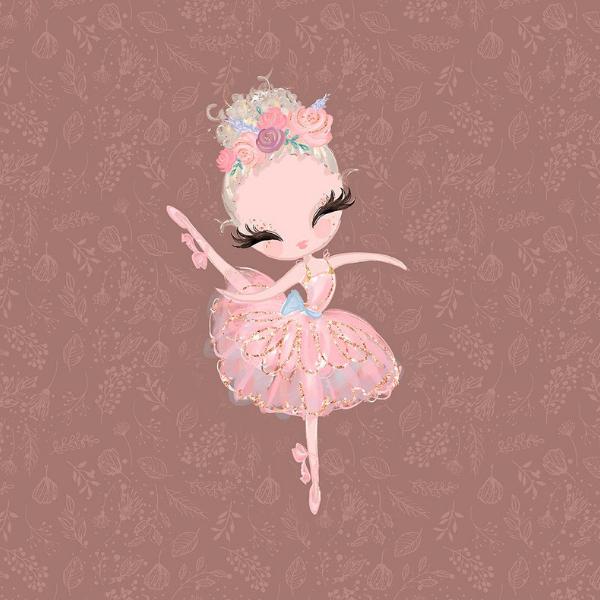 Panel - Ballerina - braun - Sommersweat -