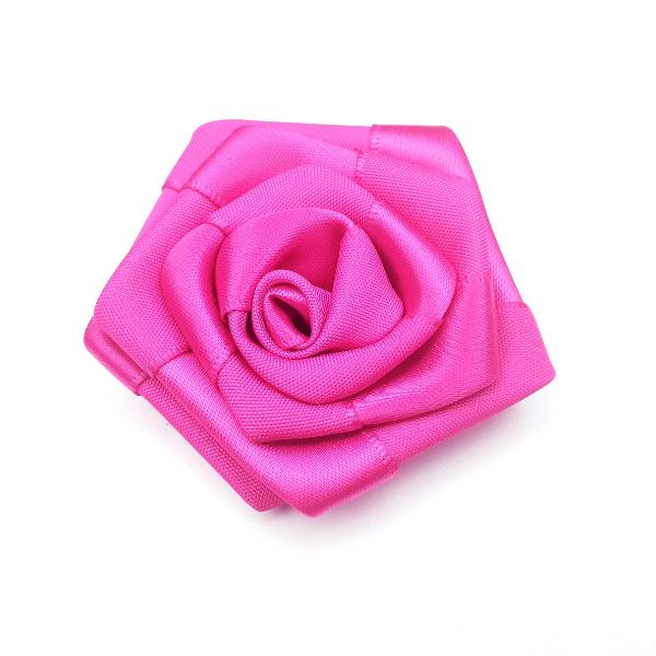 Satin-Rose- pink - 6 cm