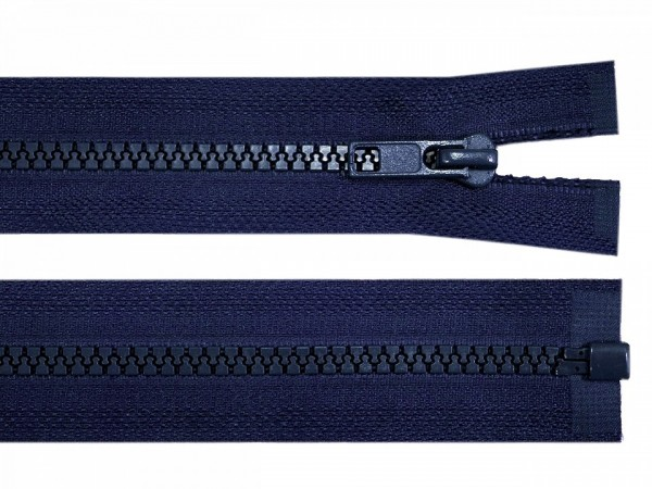 teilbarer Reißverschluss - blau - 60 cm - 1 Stk
