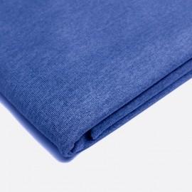 French Terry - meliert - blau
