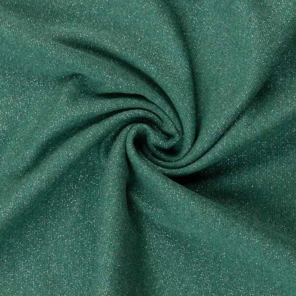 Swafing - Glamour - Bündchen - Feinripp - dunkelgrün