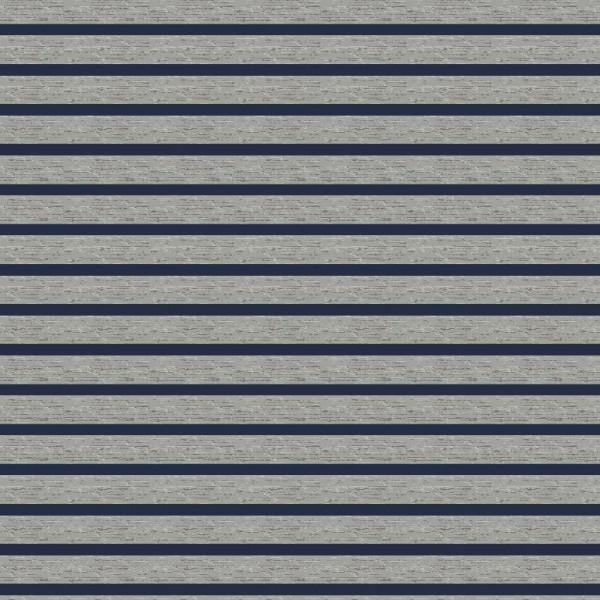 Streifen - grau/blau - Jersey -