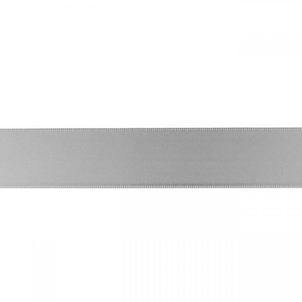 Zierband - mittelgrau - 25mm